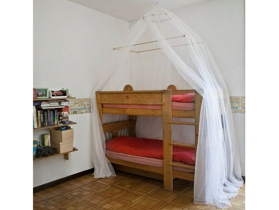 Rooms With Canopy Beds: CANOPY MOSQUITO NET FOR BUNK BEDS MARTA
