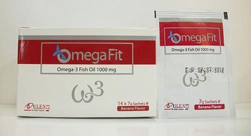 أوميجا فيت أكياس مكمل غذائى Omega Fit Sachets Fish Oil Oils Sachet