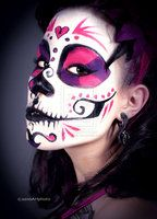 Danielle Day of the Dead by Little-Hunter