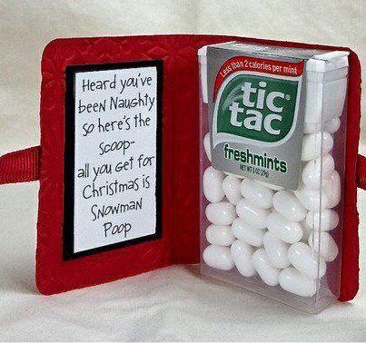 Cheap but cute Christmas gift idea.