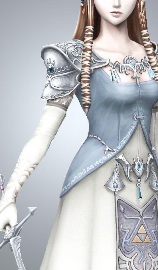 Silver + blue → Twilight Princess