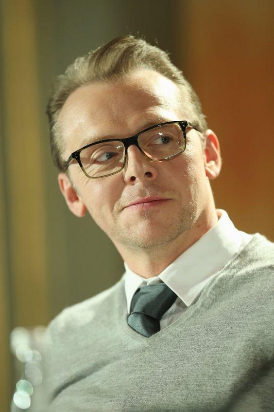 Simon Pegg - love this guy!