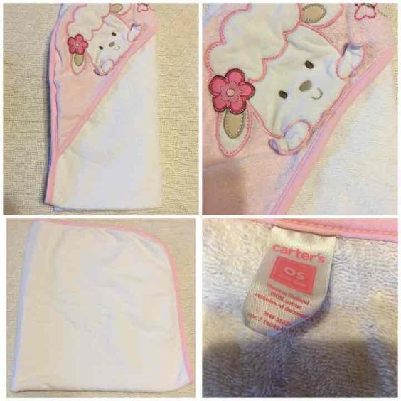 Carter's Baby Lamb Hooded Towel - Mercari: Anyone can buy & sell