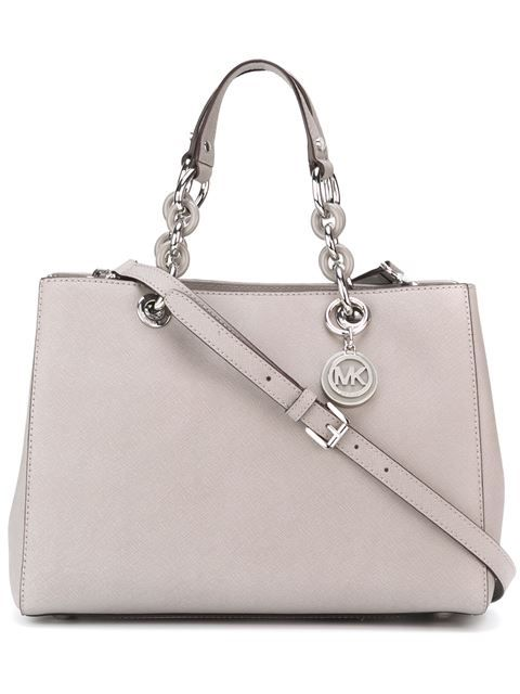 MICHAEL MICHAEL KORS Medium 'Cynthia' Tote. #michaelmichaelkors #bags #shoulder bags #hand bags #leather #tote