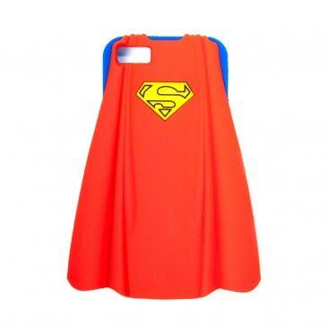 iPhone 5 Silikonhülle - Superman mit Umhang