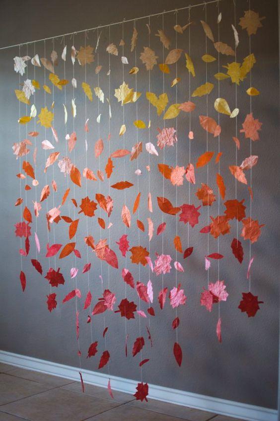 Fall Wedding Backdrop Dream Wedding Diy Pinterest
