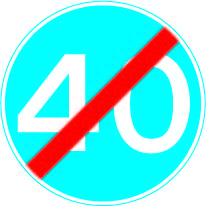 673 Minimum 40 end £0.99 #signs #traffic #road #UK