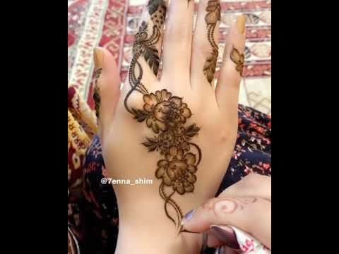 من ارووع واجمل نقوش الحناء Youtube Henna Henna Hand Tattoo Hand Henna