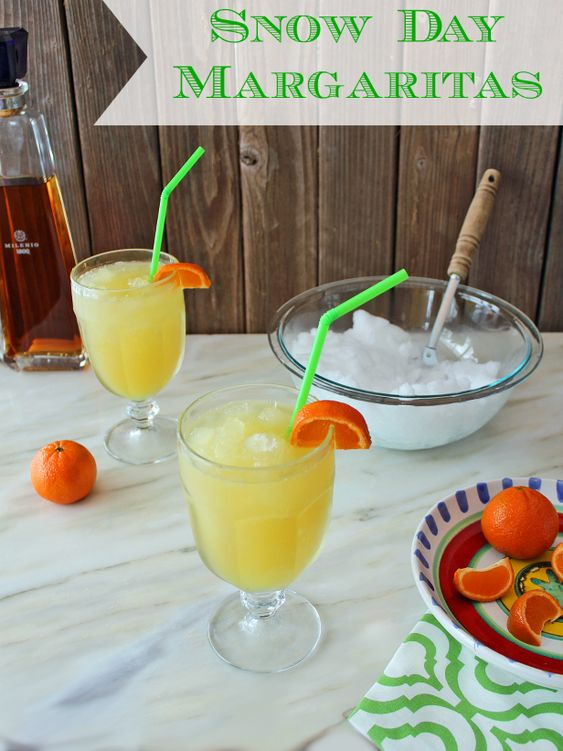 Snowed In? Whip Up a Batch of Snow Day Margaritas