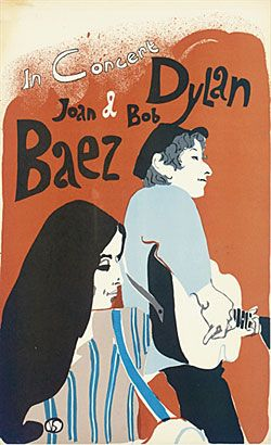 Dylan and Joan Baez, i will go to as many of her concerts as i possibly can!!