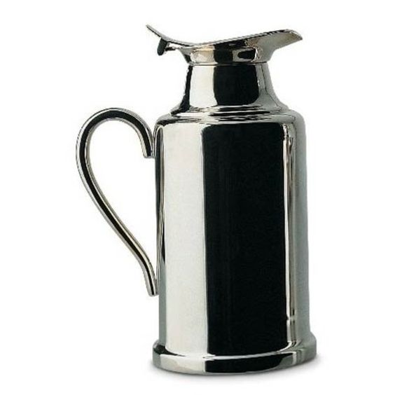 Ercuis Classique Stainless Steel Silver Plated Insulated Tea Pot