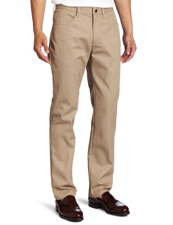 Lee Uniforms Men's Slim Straight Pant at Amazon Men's Clothing store: Casual Pants:
