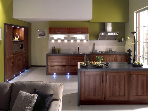Small Kitchen Wall Color Ideas Combination home decor Pinterest