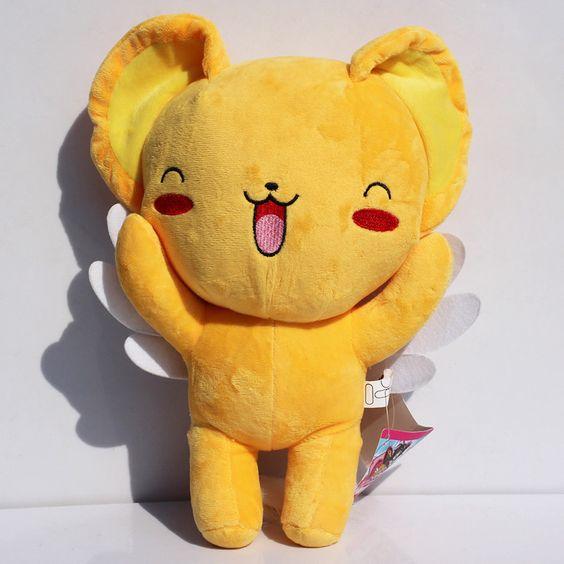 """Envío gratis 12 """" 30 cm Card captor Sakura Kero peluche juguetes de peluche muñecas suaves para la muchacha(China (Mainland))"""