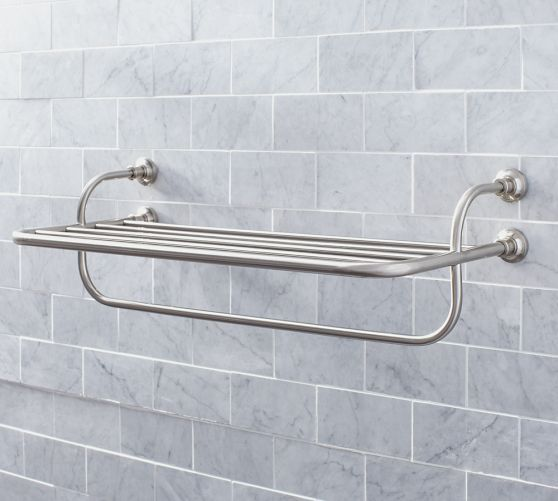 Mercer Train Rack for a bathroom 22136 This shelf is great for