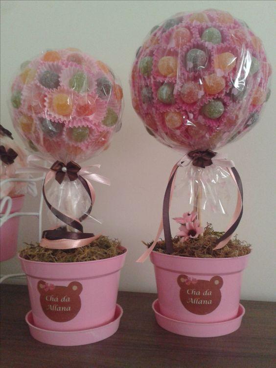 chá de bebê, ou aniversário ideias para decorar e adoçar. ;)