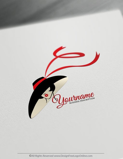 Create A Beauty Logo For Free Woman Face Logo Templates Logo Design Free Templates Woman Face Logo Logo Design Women