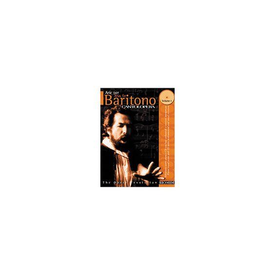 Hal Leonard Cantolopera Arias for Baritone - Volume 1 Book/CD