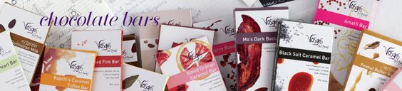 Vosges Haut-Chocolate Gourmet Exotic and Mo's Bacon Chocolate Candy Bars