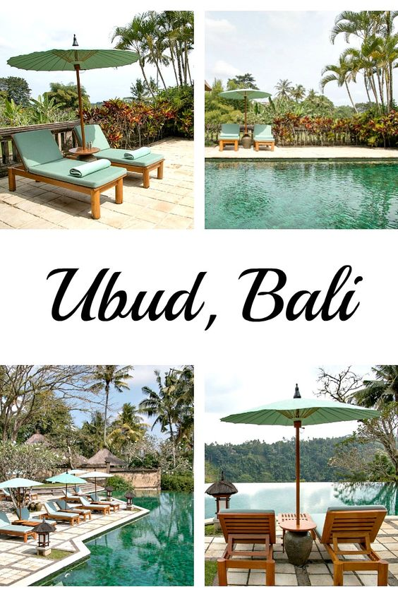 Ubud, Bali - more pictures at my travel blog. / Ubud, Bali: Amandari Hotel mit…