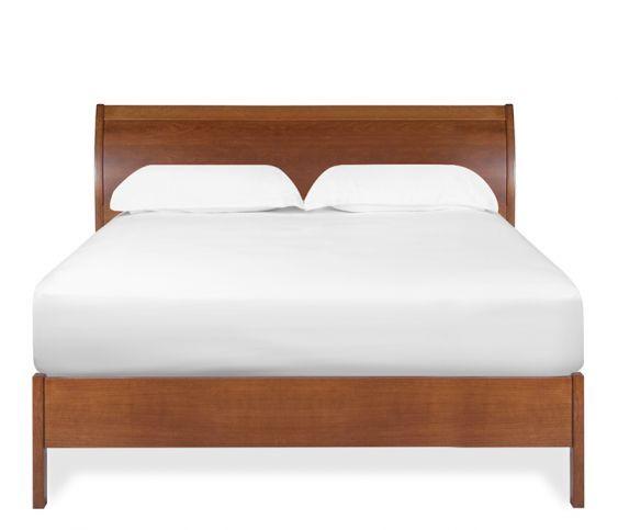 Cascade King Platform Bed Cherry King Platform Bed Frame King
