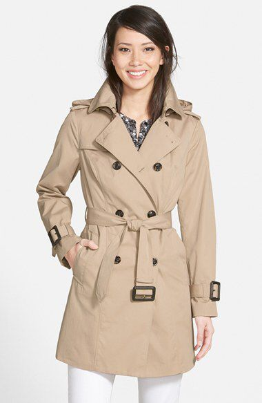 London Fog London Fog Heritage Trench Coat with Detachable Liner (Regular & Petite) (Nordstrom Exclusive) available at #Nordstrom