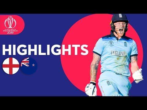 Cwc19 Finalmatch England Newzealand World Cup Final Cricket World Cup Match Highlights