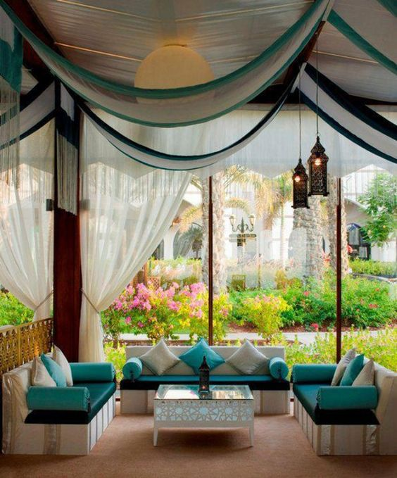 25 Great Ideas For Your Garden Cool Turquoise And White