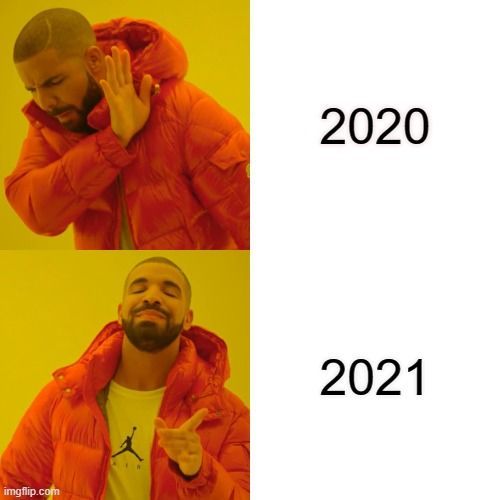 Happy New year memes 2021 in 2020 | New year meme, Drake hotline, Memes