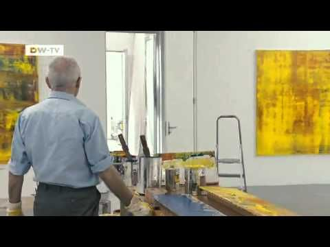 """▶ """"Gerhard Richter Painting"""": Ein Dokumentarfilm über den deutschen Künstler   euromaxx - YouTube"""