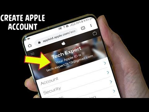 How To Create Apple Account On Android Or Ios 2020 How To Make An Apple Id Without Credit Card Youtube Apple Credit Card How To Make