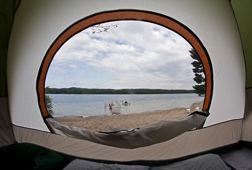 photosthatmakeyougooh:  June 24th: Morning tent view