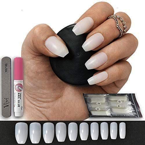 Coffinballerina Transformation Fileart100 Ballerina Reupload Prep100 Polygel Anzeige Fileart Bitten Pieces S In 2020 False Nails Glue On Nails Nail Art Diy