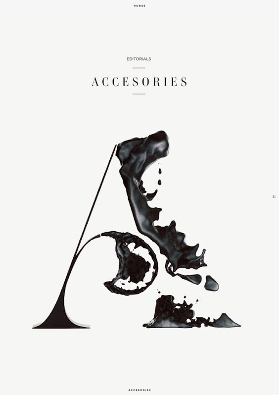 """Travel, luxury and fashion magazine Horse asked art director Eren Saracevic to make different covers for the sections """"Stories"""", """"Accessorie..."""