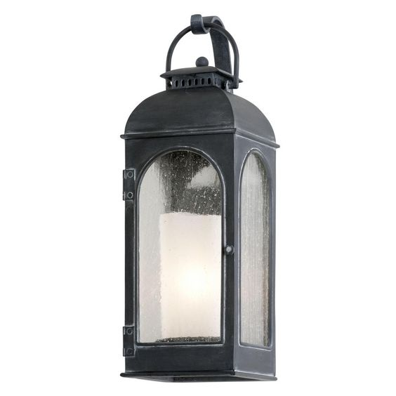 Derby Antique Iron Outdoor Wall Mount Sconce