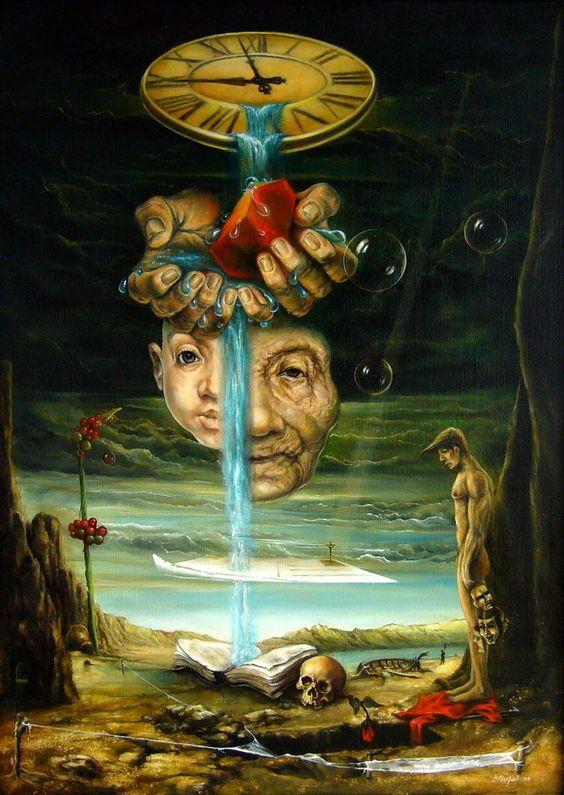 Time Goes by Like Water by joseph-art on @DeviantArt