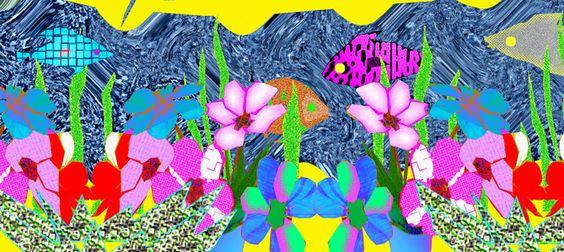 """""""Es gibt Millionen verschiedene Menschen, Tiere und Pflanzen auf der Welt."""" ~ Temu Diaab aus dem Kinderbuch 'Bunt, gleich und anders ... wie Du und ich' - ISBN Nr. 978-3-7386-0260-9  Illustration: Elisabeth Diaab www.diaab.de"""