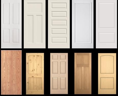 Examples of panels doors pinterest doors interiors Home depot interior doors