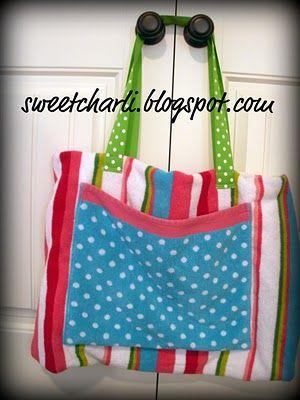 Beach towel/bag