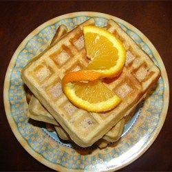 tastycookery   Nutty Pecan Waffles