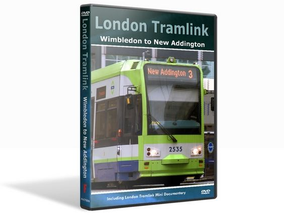 Our DVD was filmed from the cab of one of London Tramlink ...