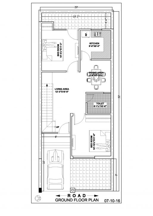 Best House Plan For 20x40 Site Awesome 20 X 40 House Plans Awesome Home 20 50 Duplex House Plan Photo H Duplex House Plans Narrow House Plans 2bhk House Plan