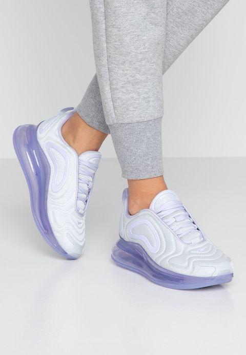 AIR MAX 720 - Trainers - pure platinum/oxygen purple - Nike ...