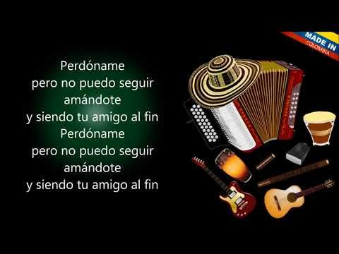 Perdóname Los Gigantes Del Vallenato Letra Youtube Album Songs Youtube Songs