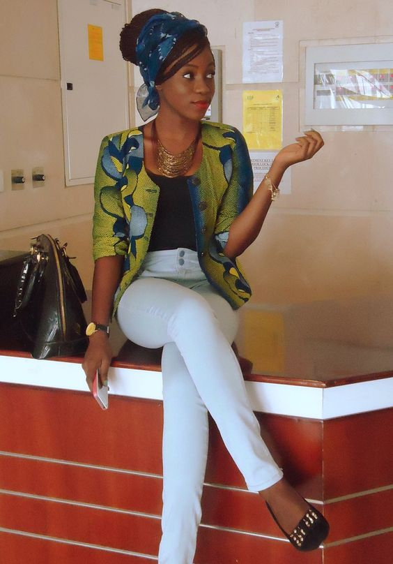 Style Type-for the love of ankara tops (blazers and jackets)