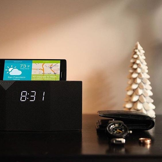 By @wittidesign BEDDI, by WITTI Design, is the intelligent, app controlled alarm clock that will bring you the best wake up experience. Order yours on Amazon today! #wittidesign #beddi #techgadgets #gadget #instatech #phones