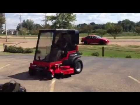 Worlds First Air Conditioned Riding Lawn Mower - Ridgeland Ms. - YouTube