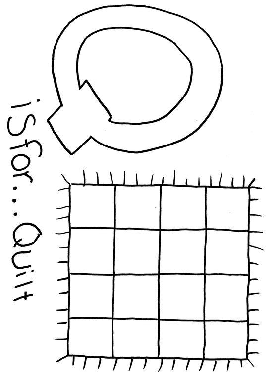 Free printable Alphabet coloring page Letter Q | Alphabet ...