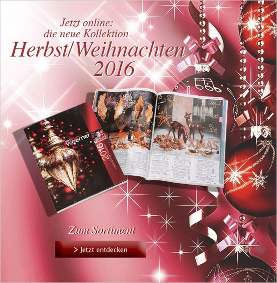 Jetzt online: Die Neue #DekoWoerner #Kollektion #Herbst/Weihnachten 2016! Entdecken Sie die neuesten #Trends. #Deko #Herbstdeko #Weihnachtsdeko #Winterdeko http://shop.decowoerner.com/cgi-bin/WebObjects/XSeMIPS.woa/cms/page/locale.deDE/pid.4599/mlid.1963/NL-2016-06-07-Neue-Koll-HW16-AI.html