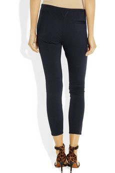 The top10 French wardrobe essentials include these cropped ponte pants {Vicki Archer, French Essence}
